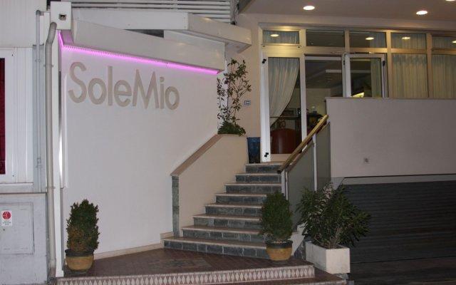 Hotel Sole Mio вид на фасад
