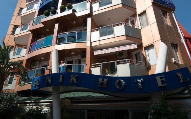 Anik Suite Hotel Alanya Турция, Аланья - отзывы, цены и фото номеров - забронировать отель Anik Suite Hotel Alanya онлайн вид на фасад