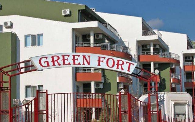 Отель Green Fort Солнечный берег вид на фасад