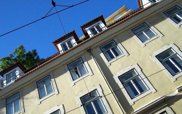 Апартаменты Lisbon Serviced Apartments - Praça do Município вид на фасад