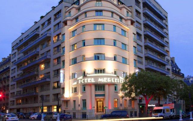 Отель Best Western Hôtel Mercedes Arc de Triomphe вид на фасад