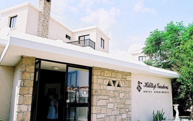 Отель Hilltop Gardens Кипр, Пафос - 1 отзыв об отеле, цены и фото номеров - забронировать отель Hilltop Gardens онлайн вид на фасад