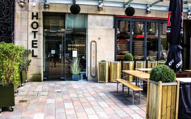 Отель Brunswick Merchant City Hotel Великобритания, Глазго - отзывы, цены и фото номеров - забронировать отель Brunswick Merchant City Hotel онлайн вид на фасад