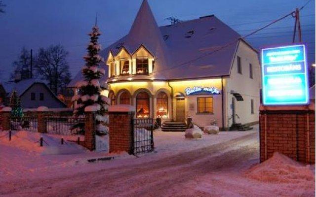 Отель Balta maja Латвия, Рига - отзывы, цены и фото номеров - забронировать отель Balta maja онлайн вид на фасад