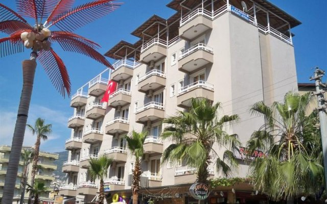 Glaros Hotel вид на фасад