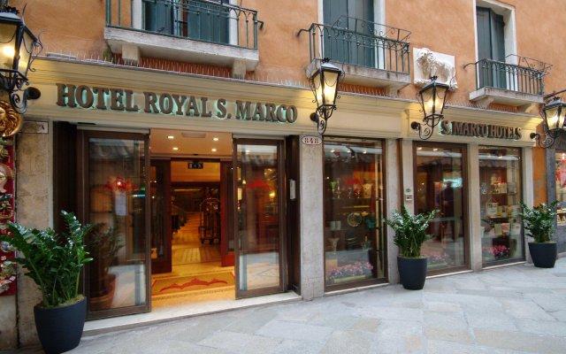 Отель Royal San Marco Венеция вид на фасад