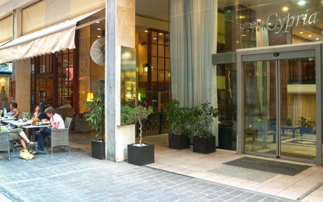 Отель Athens Cypria Hotel Греция, Афины - 2 отзыва об отеле, цены и фото номеров - забронировать отель Athens Cypria Hotel онлайн вид на фасад