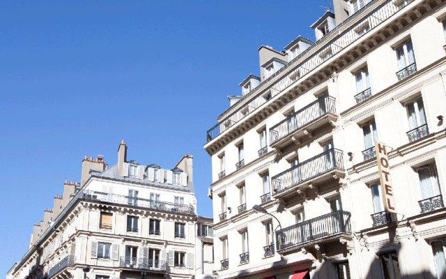 Отель Hibiscus République Франция, Париж - - забронировать отель Hibiscus République, цены и фото номеров вид на фасад