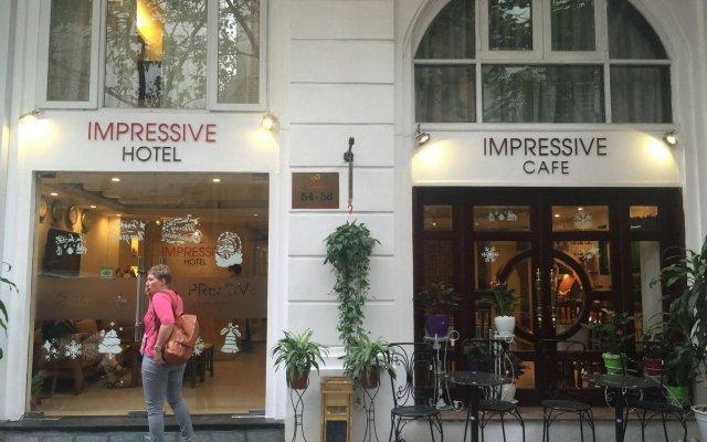 Отель Hanoi Impressive Hotel Вьетнам, Ханой - отзывы, цены и фото номеров - забронировать отель Hanoi Impressive Hotel онлайн вид на фасад