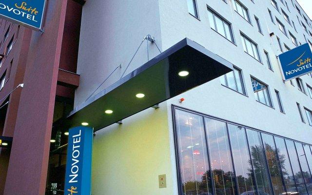 Hotel Novotel Suites Wien City Donau вид на фасад