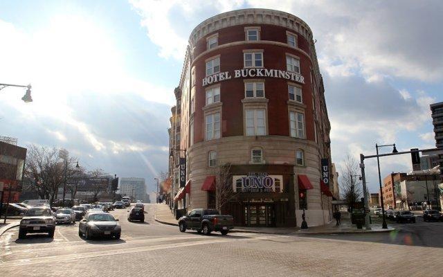 Boston Hotel Buckminster вид на фасад