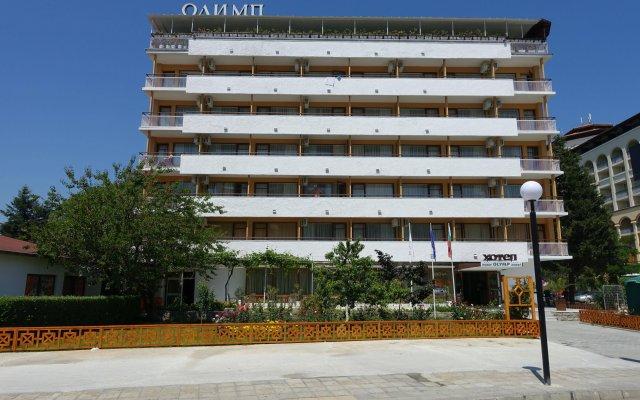 Отель Olymp вид на фасад
