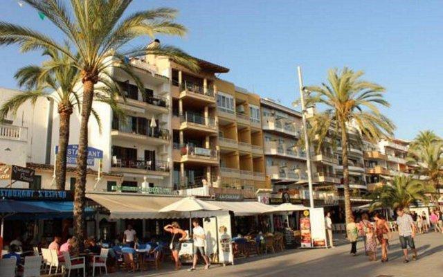 Отель Hostal Vista Alegre вид на фасад