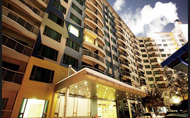 Отель Welli Hilli Park Южная Корея, Пхёнчан - отзывы, цены и фото номеров - забронировать отель Welli Hilli Park онлайн вид на фасад