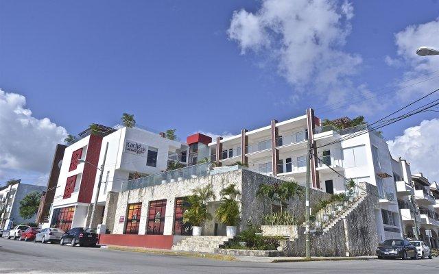 Отель Cache Hotel Boutique - Только для взрослых Мексика, Плая-дель-Кармен - отзывы, цены и фото номеров - забронировать отель Cache Hotel Boutique - Только для взрослых онлайн вид на фасад