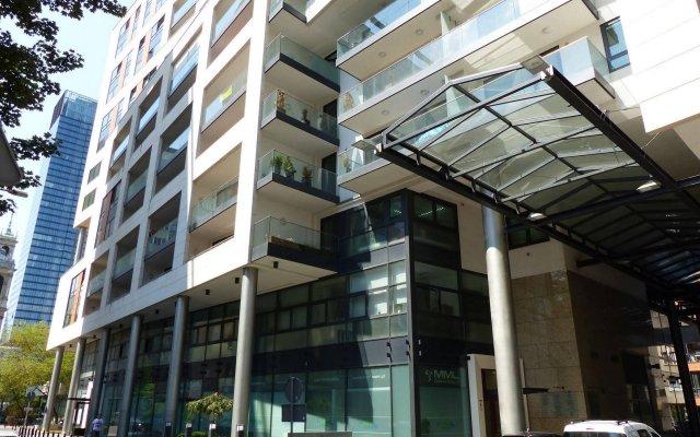 Отель Hosapartments City Center Польша, Варшава - 2 отзыва об отеле, цены и фото номеров - забронировать отель Hosapartments City Center онлайн вид на фасад