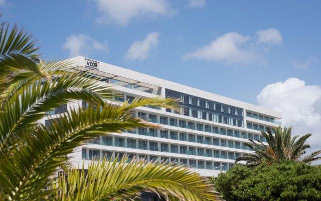 Отель AZOR Понта-Делгада вид на фасад