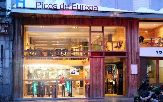 Отель Picos De Europa Испания, Сантандер - отзывы, цены и фото номеров - забронировать отель Picos De Europa онлайн вид на фасад