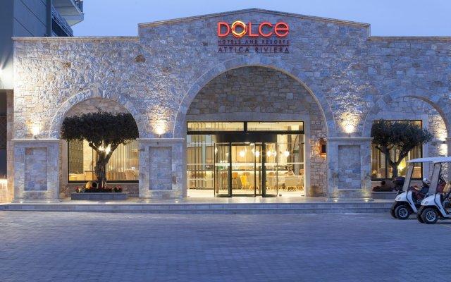 Отель Dolce Attica Riviera вид на фасад