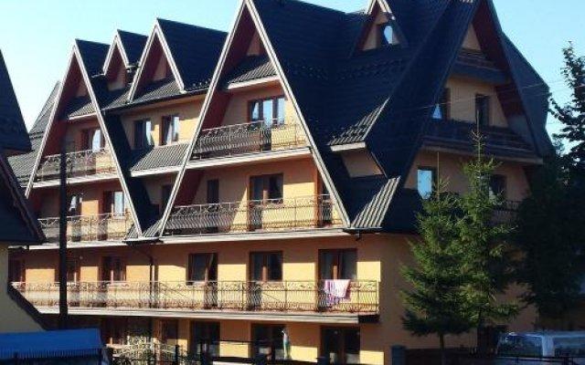 Отель Willa Bogda Поронин вид на фасад