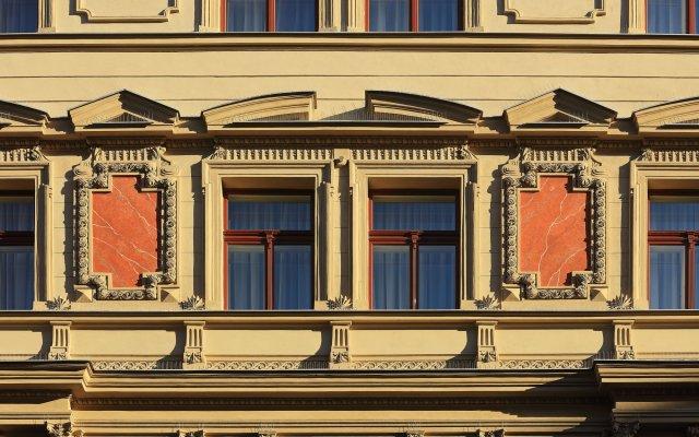 Отель Salvator Boutique Прага вид на фасад