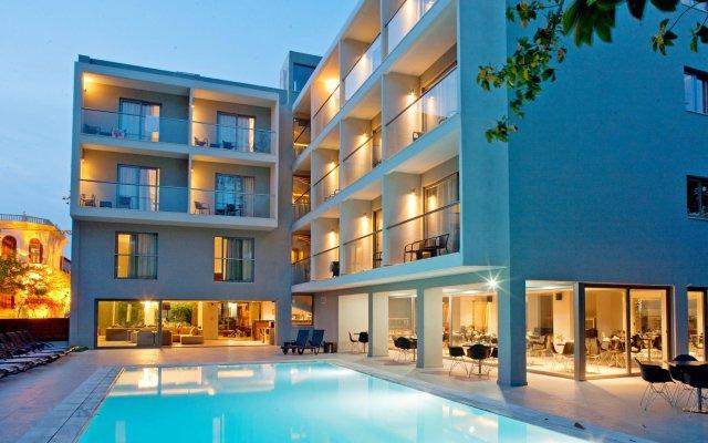 Отель Oktober Down Town Rooms Греция, Родос - отзывы, цены и фото номеров - забронировать отель Oktober Down Town Rooms онлайн вид на фасад