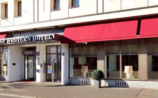 Best Western Hotel Leipzig City Centre вид на фасад
