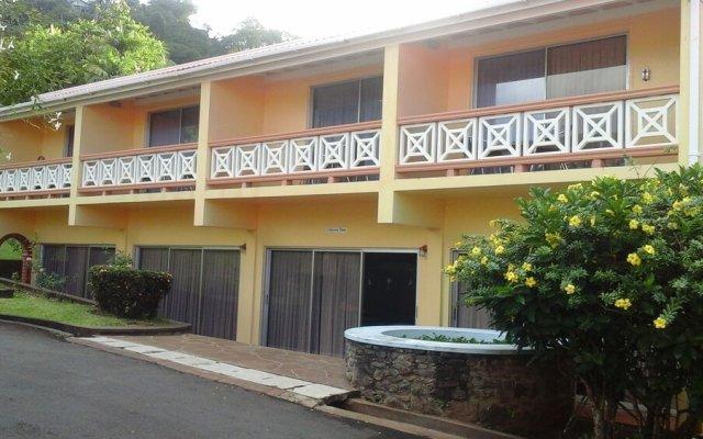 Отель Sunset Shores Beach Hotel Сент-Винсент и Гренадины, Остров Бекия - отзывы, цены и фото номеров - забронировать отель Sunset Shores Beach Hotel онлайн вид на фасад