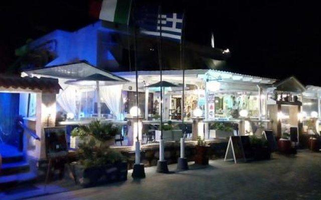 Отель Beach Amaryllis Греция, Агистри - отзывы, цены и фото номеров - забронировать отель Beach Amaryllis онлайн вид на фасад