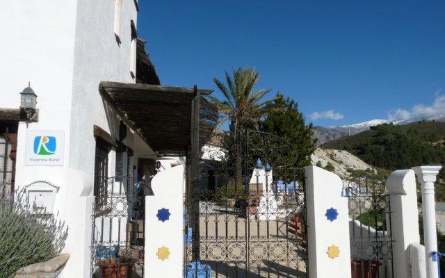 Отель Alojamientos Rurales Cortijo Del Norte Al Sur De Granada Дуркаль вид на фасад