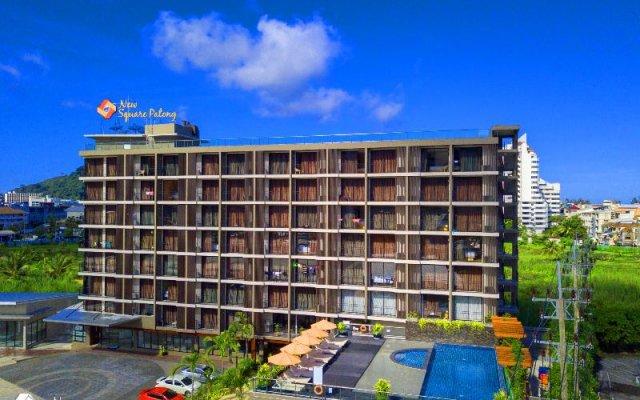 New Square Patong Hotel вид на фасад