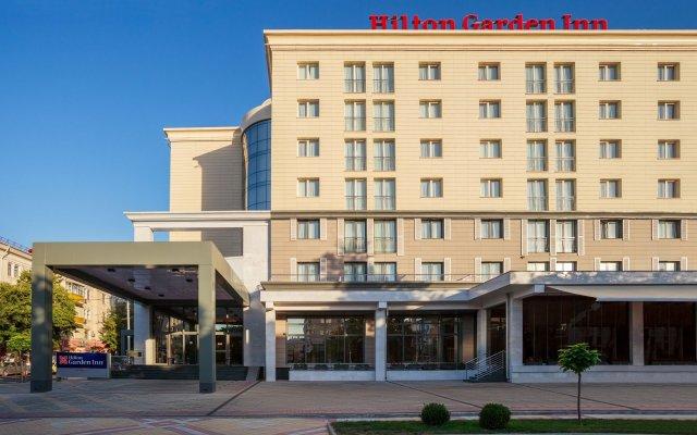 Гостиница Hilton Garden Inn Краснодар (Хилтон Гарден Инн Краснодар) вид на фасад