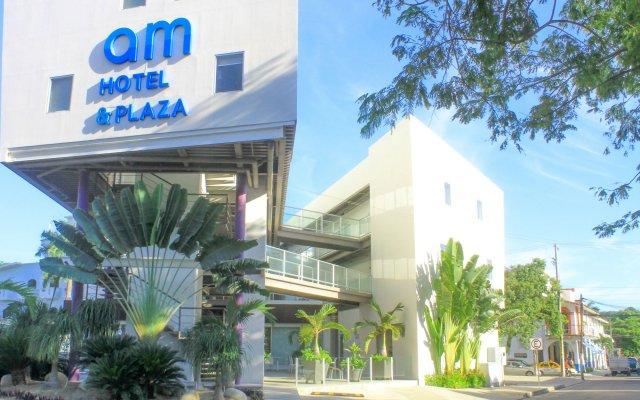 AM Hotel & Plaza вид на фасад
