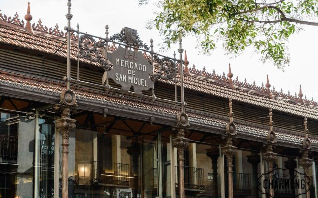 Отель Charming Mercado de San Miguel вид на фасад