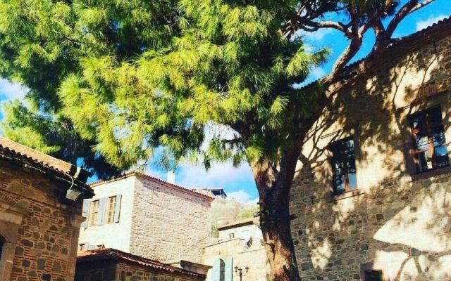 Les Pergamon Hotel Турция, Дикили - отзывы, цены и фото номеров - забронировать отель Les Pergamon Hotel онлайн вид на фасад