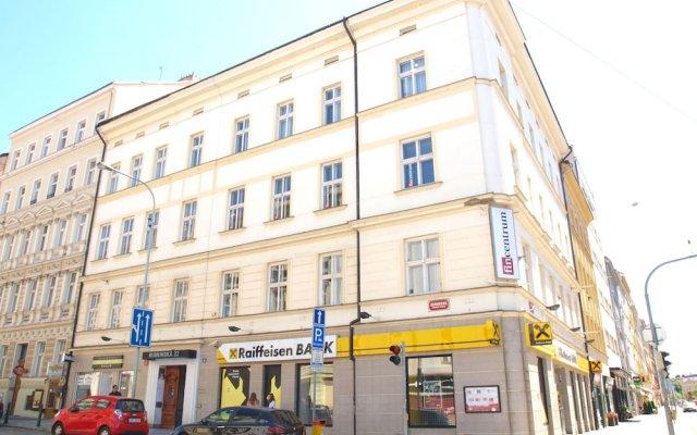 Апартаменты City Center Prague Apartments вид на фасад