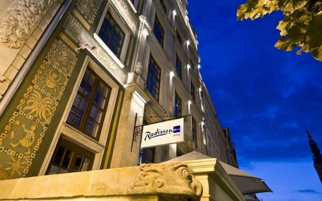 Отель Radisson Blu Hotel, Gdansk Польша, Гданьск - 2 отзыва об отеле, цены и фото номеров - забронировать отель Radisson Blu Hotel, Gdansk онлайн вид на фасад