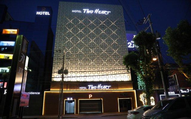 Отель Two Heart Hotel Южная Корея, Тэгу - отзывы, цены и фото номеров - забронировать отель Two Heart Hotel онлайн вид на фасад
