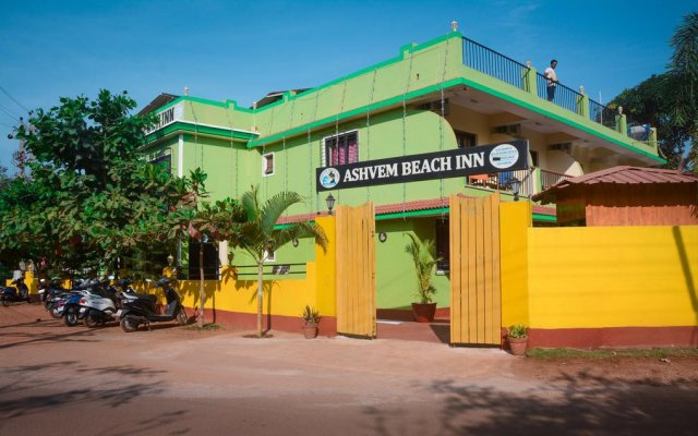 Отель Ashvem Beach Inn вид на фасад