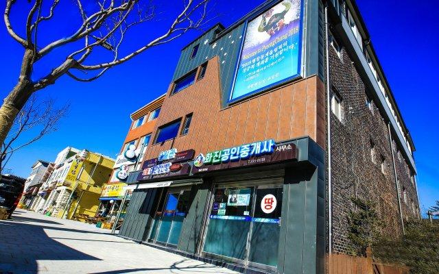 Отель Goodstay Daegwallyeongsanbang Южная Корея, Пхёнчан - отзывы, цены и фото номеров - забронировать отель Goodstay Daegwallyeongsanbang онлайн вид на фасад