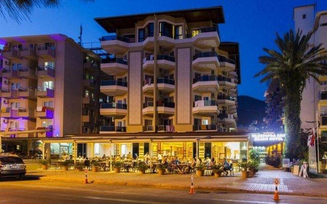 Kleopatra Ada Beach Hotel вид на фасад