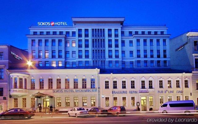 Отель Solo Sokos Vasilievsky Санкт-Петербург вид на фасад