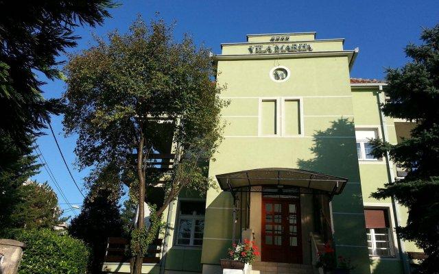 Отель Villa Marija Белград вид на фасад