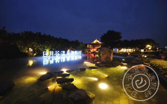 Отель Riyuegu Hotsprings Resort вид на фасад