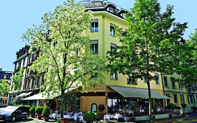 Отель Seegarten Swiss Quality Hotel Швейцария, Цюрих - 1 отзыв об отеле, цены и фото номеров - забронировать отель Seegarten Swiss Quality Hotel онлайн вид на фасад