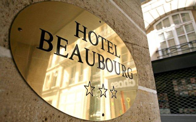 Отель Hôtel Beaubourg Франция, Париж - отзывы, цены и фото номеров - забронировать отель Hôtel Beaubourg онлайн вид на фасад