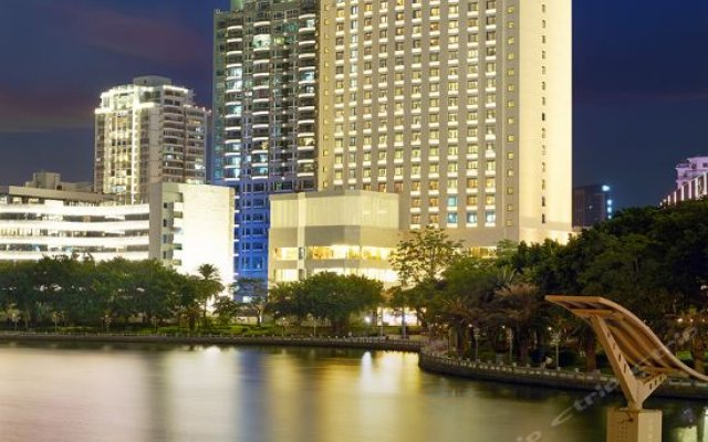 Отель Lakeside Hotel Xiamen Airline Китай, Сямынь - отзывы, цены и фото номеров - забронировать отель Lakeside Hotel Xiamen Airline онлайн вид на фасад
