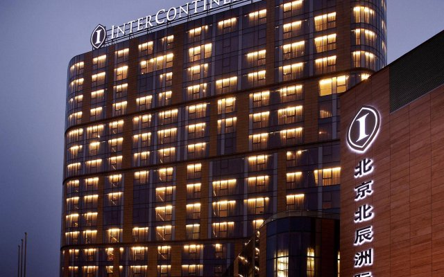 Отель InterContinental Beijing Beichen вид на фасад