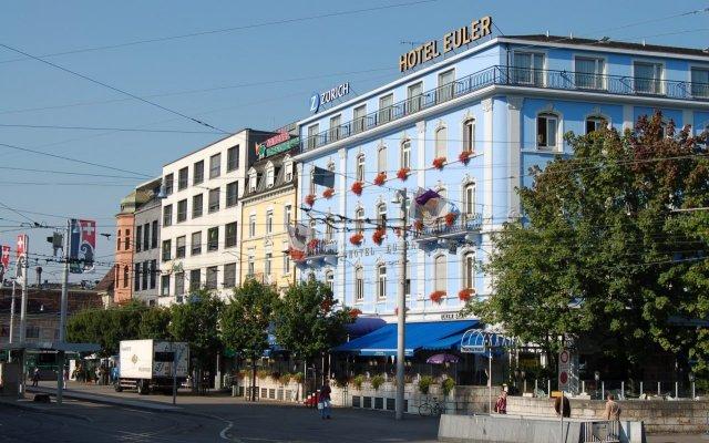 Euler Hotel Basel вид на фасад