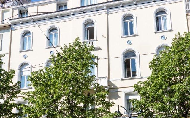 Отель BEST WESTERN Alba вид на фасад